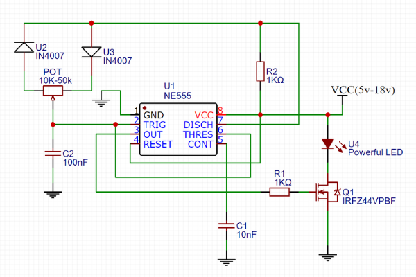 [DIAGRAM_09CH]  LED Dimmer Circuit with 555 Timer - | Led Dimming Wiring Diagram Capacitor |  | CircuitBest