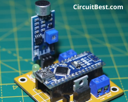 all Arduino parts connected in pcb