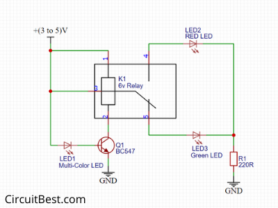 electronic flasher relay wiring diagram led flasher circuit with relay circuitbest  led flasher circuit with relay