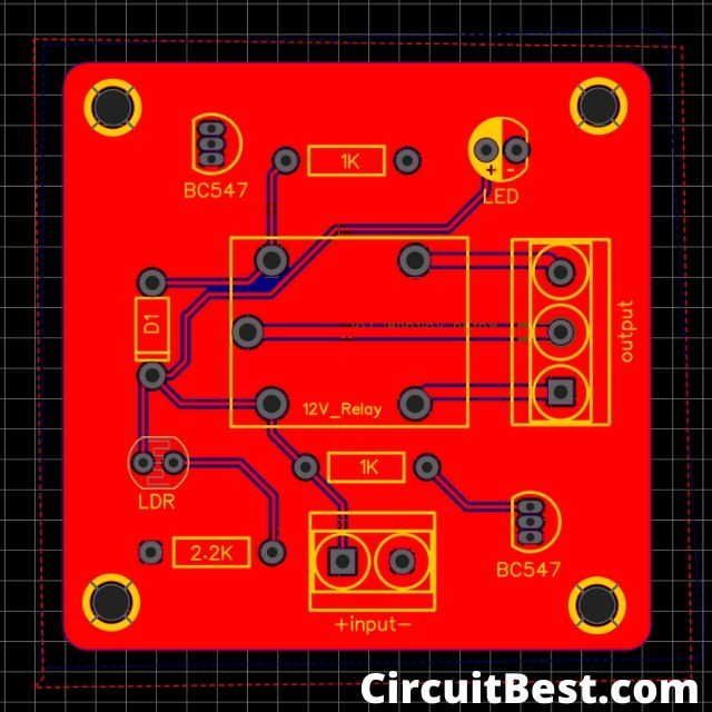 PCB Front view