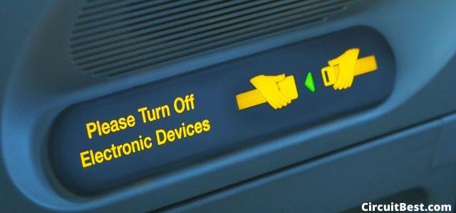 turn off electronics