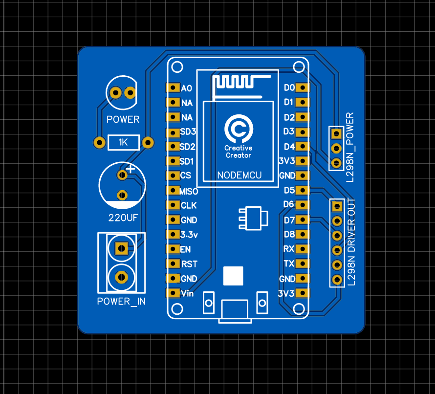 PCB 2D View