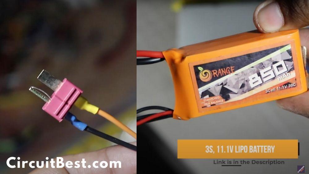 12v lipo battery for power