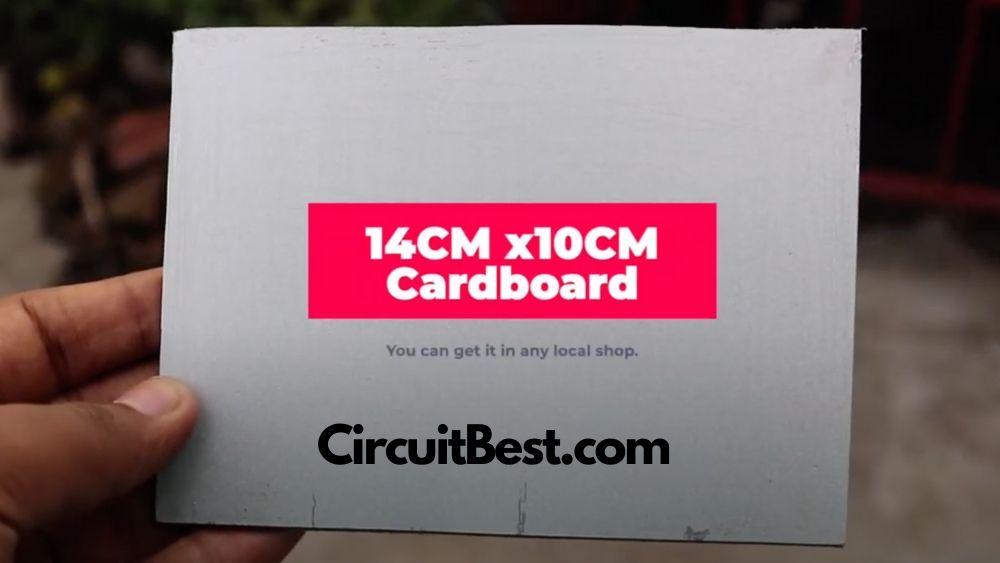 cut a mdf board in preffered size.