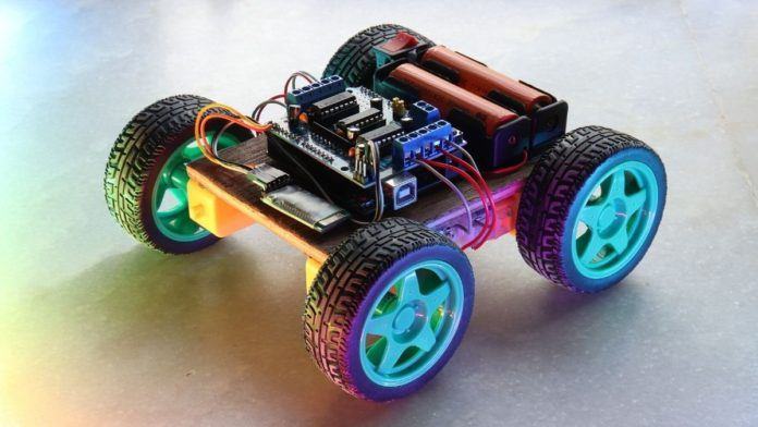 Arduino Bluetooth Car with L293D