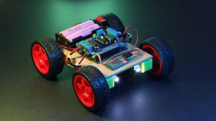 Arduino Bluetooth car with lights